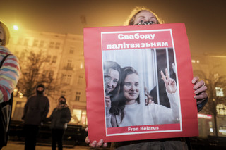 Białoruskie władze przekuły strach w represje wobec dziennikarek [WYWIAD]