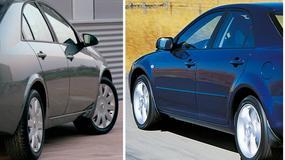 Porównanie: Nissan Primera P12 vs. Mazda 6 I - pojedynek samurajów