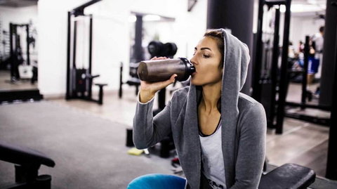 Drinking protein shakes are an easy and great way of getting in the extra nutrients that your body needs [Credit: Healthline]