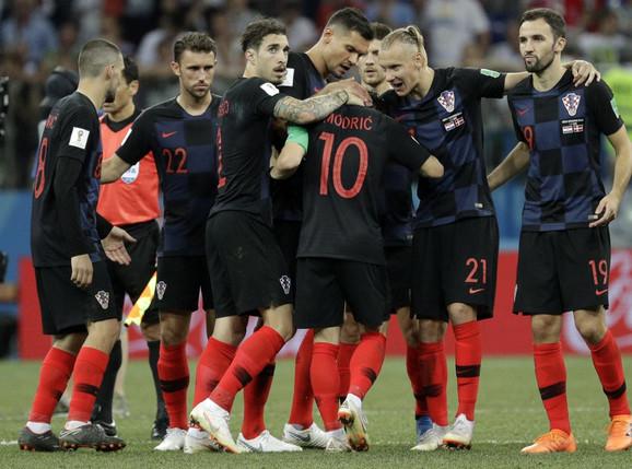 Radost fudbalera Hrvatske