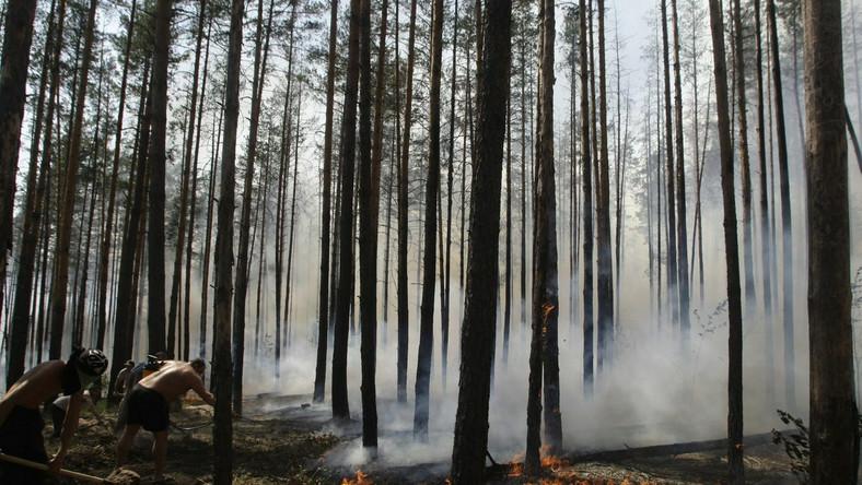 Wielkie pożary zbliżają się do Moskwy