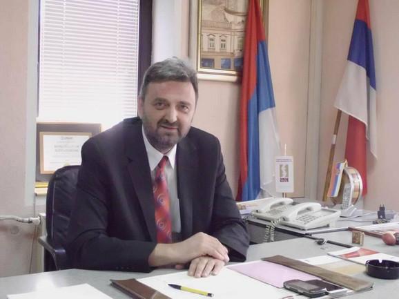 Zoran Bojović, lider župskih naprednjaka i predsednik opštine Aleksandrovac