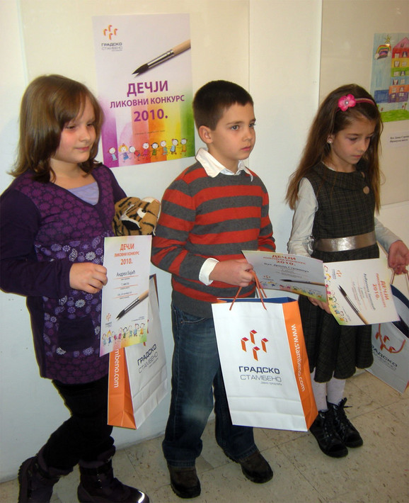 Prošlogodišnji pobednici dečjeg likovnog konkursa