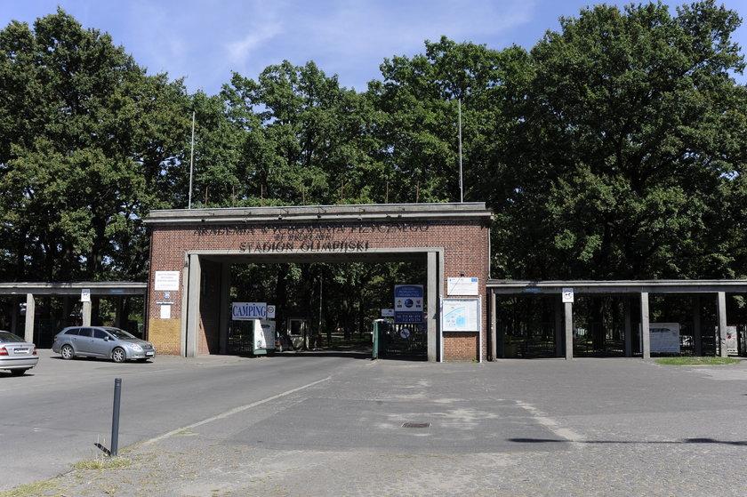 Wejście do Akademii Wychowania Fizycznego we Wrocławiu