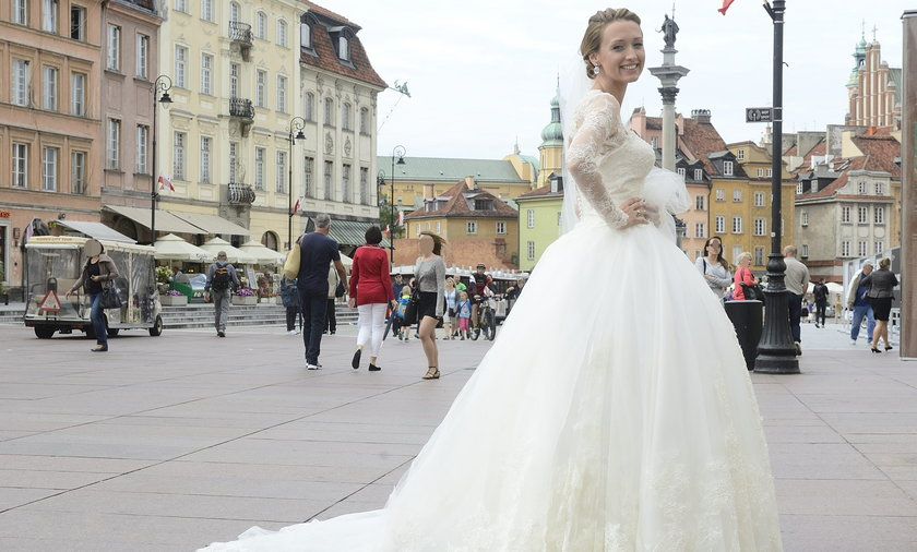 Suknia ślubna Anny Gzyry