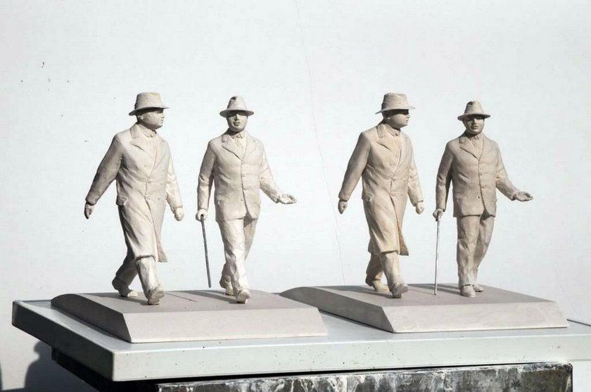 Nowy pomnik na bulwarach
