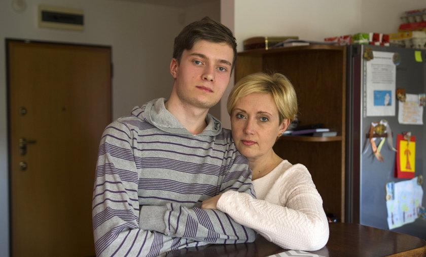 20-letniemu Andriejowi grozi deportacja na ogarniętą wojną Ukrainę