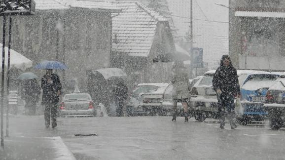 Hladno kao u sred zime: Nova Varoš danas
