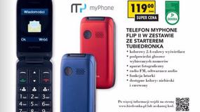 MyPhone Flip II - tani telefon z klapką z Biedronki