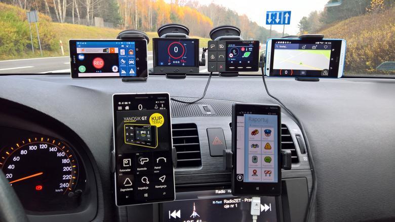 Yanosik, Yanosik GTR, iCoyote, Coyote Mini, Rysiek, Waze - test ostrzegaczy
