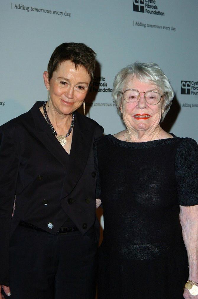 Alma i Patriša 2009. na svečanosti Fondacije Alfreda Hičkoka u Los Anđelesu