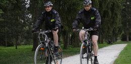 A to heca! Policjanci ścigają bandytów na rowerach