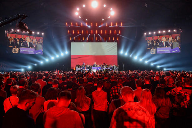 Konwencja wyborcza partii Roberta Biedronia Wiosna