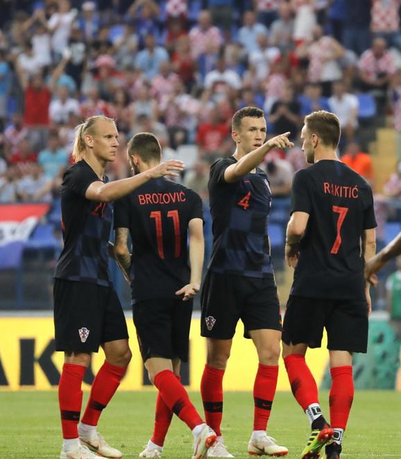 Oprema hrvatske reprezentacije nije naišla na odobravanje britanskih medija
