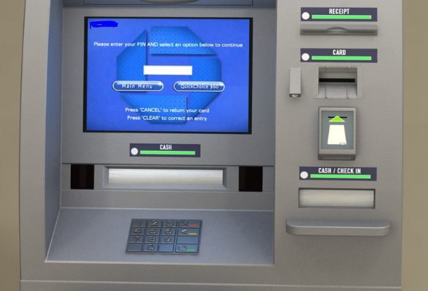 File image of an ATM machine