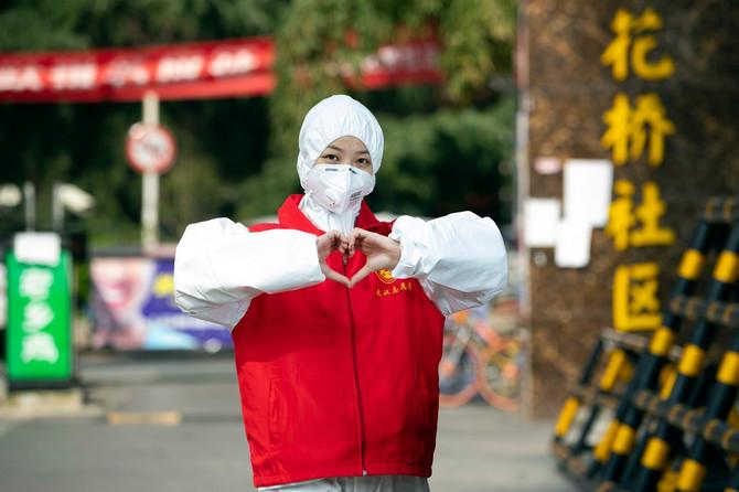 Volonterka iz Vuhana (ilustracija)