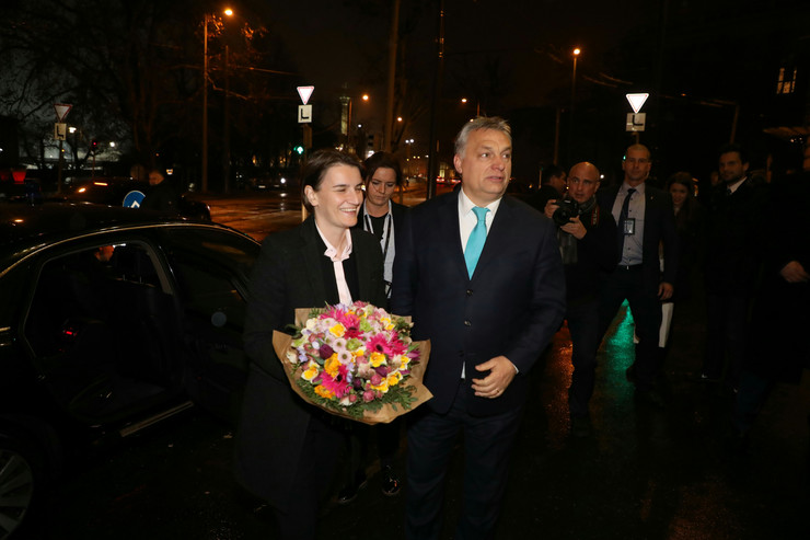 Ana Brnabić Viktor Orban