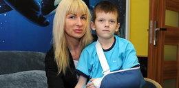 Synek mógł stracić rękę, a szkoła nie wezwała lekarza