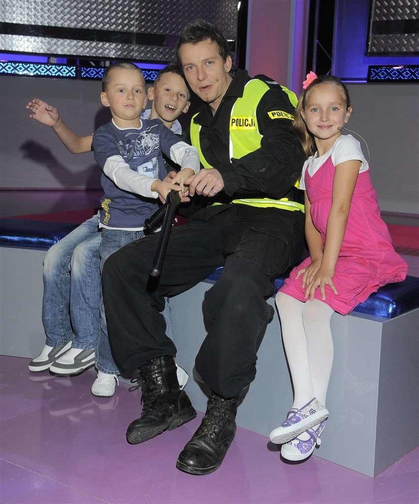 Kupicha policjantem