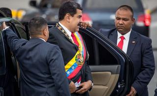 Zamach na Maduro był sfingowany? 'Wynik walk frakcji reżimu'