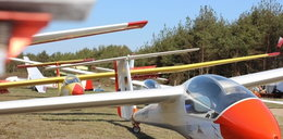Pilot szybowca ranny po awaryjnym lądowaniu koło Kościerzyny