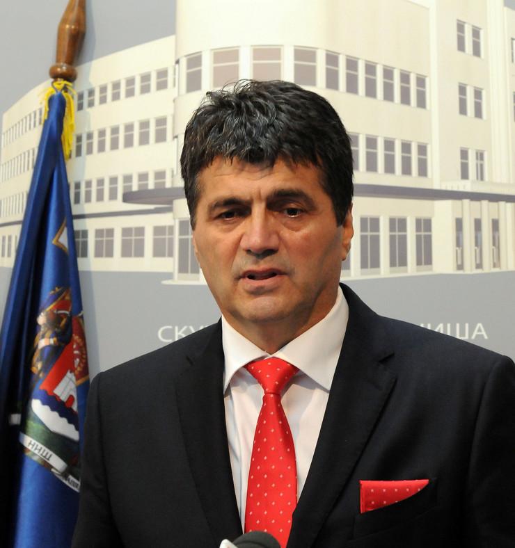 Darko Bulatović, gradonačelnik Niša