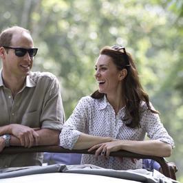 Książę William i księżna Kate na wyprawie w Indiach