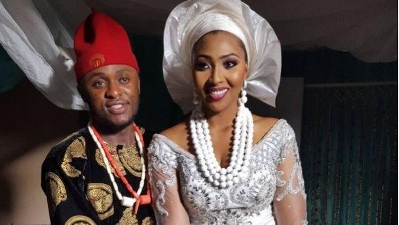 Photos from Ubi Franklin and Lilian Esoro's traditional rites