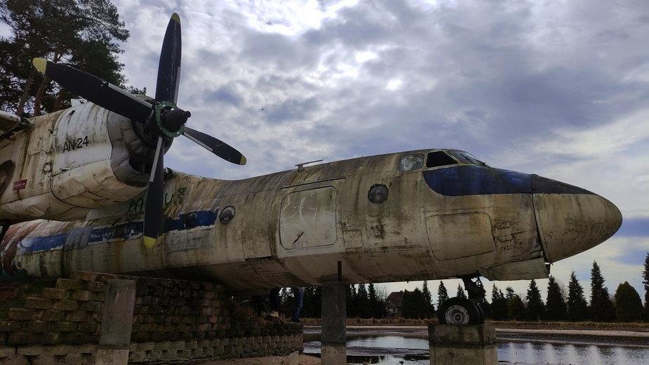 AN-24 w Starym Oleśnie