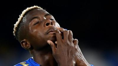 Nigerian striker Victor Osimhen tests positive for coronavirus again