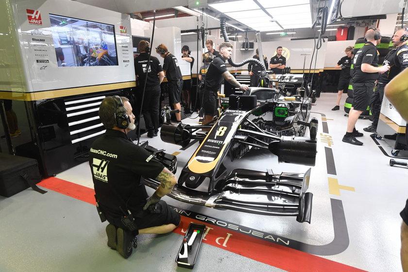 o Racing Point, Haas i McLaren