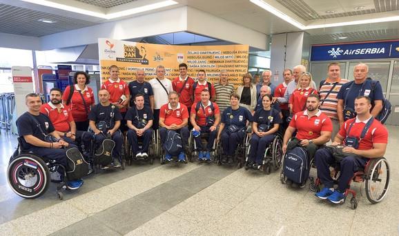 Krenuli put Rija: Paraolimpijci Srbije