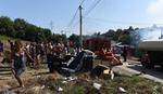 Pet kuća izgorelo u naselju Mali Leskovac, KONJ OZLEDIO TRUDNICU I DVOJE DECE (VIDEO)