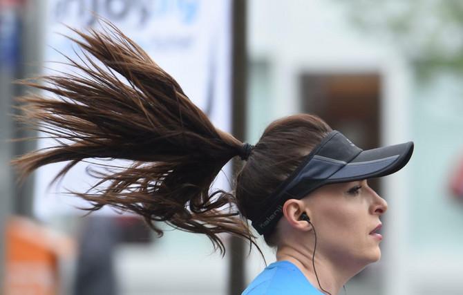 Žene na maratonu-uobičajena slika, danas