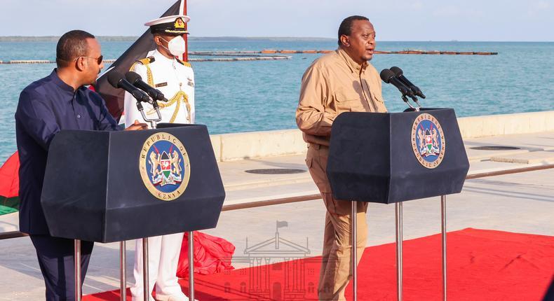 Ethiopian PM Abiy Ahmed skips launch of Likoni floating bridge