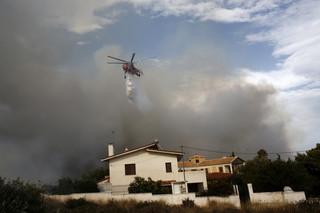 Pożary w Grecji: Już 74 ofiary śmiertelne