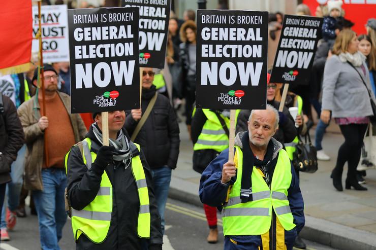London protest EPA VICKIE FLORES