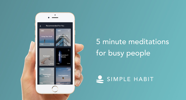 The Simple Habit meditation app