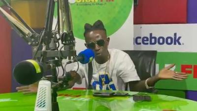 Patapaa loses cool at Okay FM, says 'Sarkodie no get sense' for 'disrespecting' him (WATCH)
