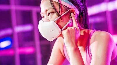 Oczyszczacz LG PuriCare w nowej wersji. Mikrofon oraz głośnik wbudowane w maskę