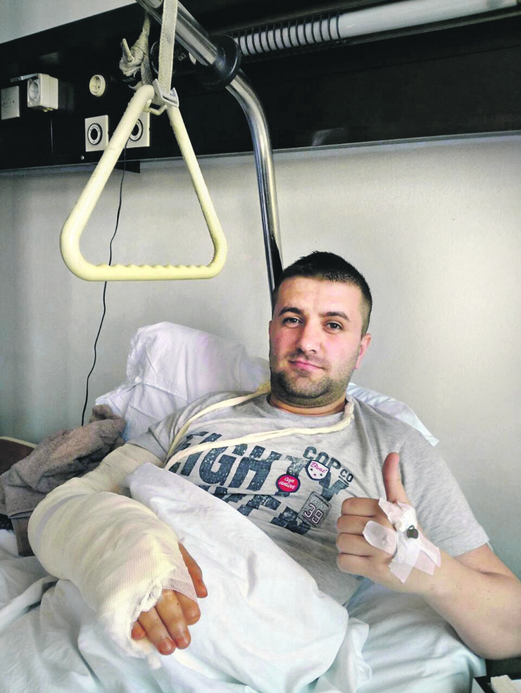 Valjevo Nova ortopedska operacija Nemanja Gajic foto Predrag Vujanac