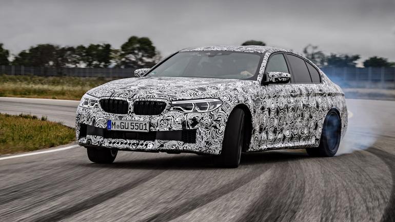 Nowe BMW M5