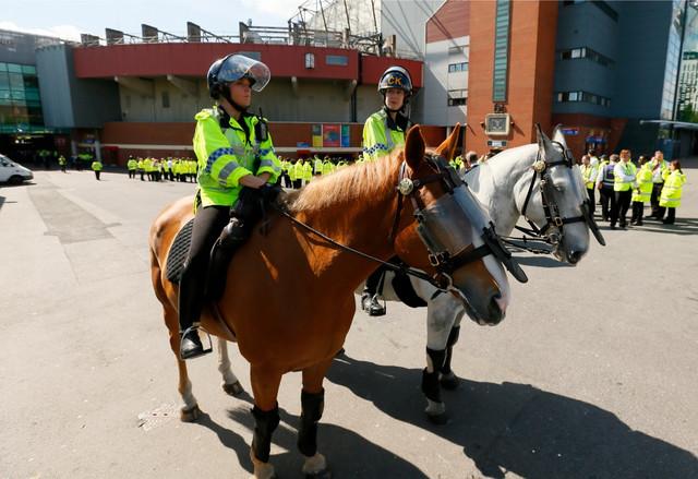 Policija je brzo došla na stadion
