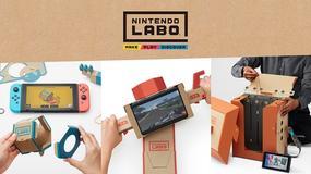 Nintendo Labo - Big N szykuje nowe gadżety dla Switcha. Wykonane z kartonu