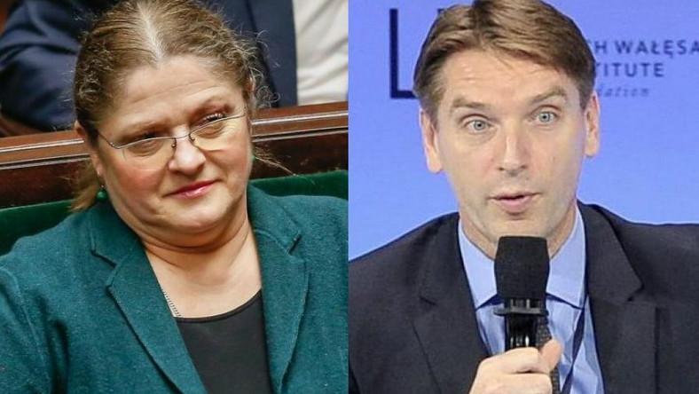 Krystyna Pawłowicz, Tomasz Lis