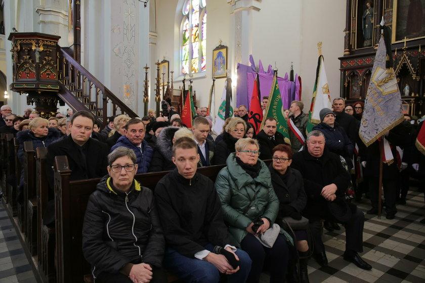 Pogrzeb wójt gminy Zgierz
