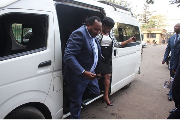 Kiambu Governor Ferdinand Waititu, wife Susan Ndung'u sent back to jail after day in court over Sh588 million irregular tender