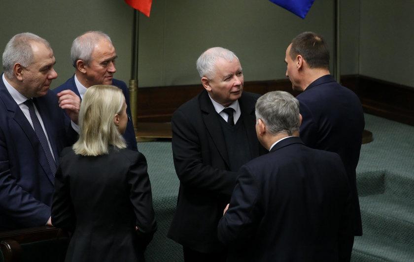 Jarosław Kaczyński miał oddzielny opłatek