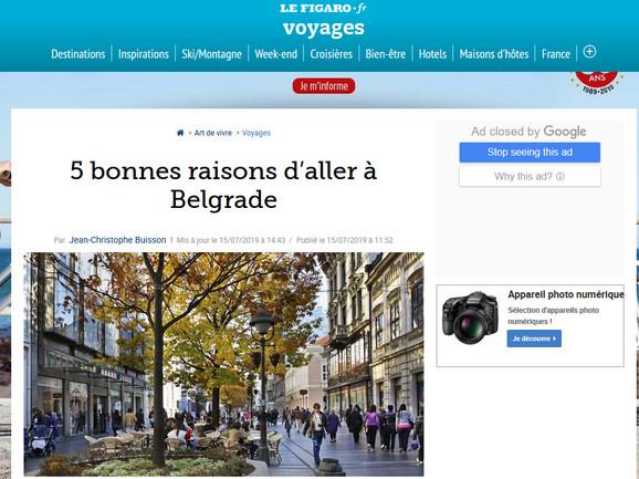 Figaro o Beogradu