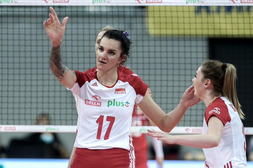 Ona i jej koleżanki rozpoczną zmagania w Lidze Narodów od meczu z Włoszkami, które do Rimini przyjechały w rezerwowym składzie.
